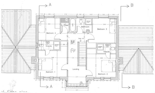 DS FIRST FLOOR PLAN