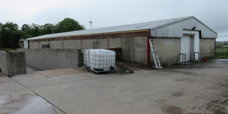 SHED AND LOADING BAY